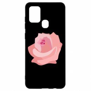 Etui na Samsung A21s Tender rose