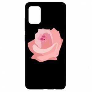 Etui na Samsung A51 Tender rose