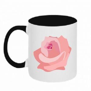 Kubek dwukolorowy Tender rose