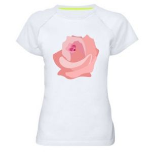Koszulka sportowa damska Tender rose