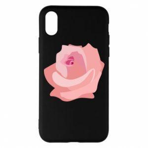 Etui na iPhone X/Xs Tender rose