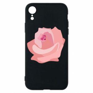 Etui na iPhone XR Tender rose