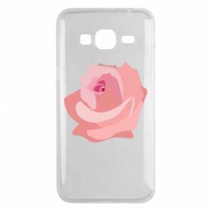 Etui na Samsung J3 2016 Tender rose