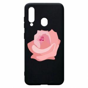 Etui na Samsung A60 Tender rose