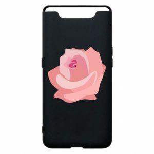 Etui na Samsung A80 Tender rose