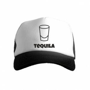 Czapka trucker dziecięca Tequila for lime