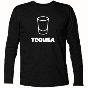 Long Sleeve T-shirt Tequila for lime - PrintSalon