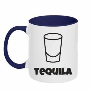 Two-toned mug Tequila for lime - PrintSalon