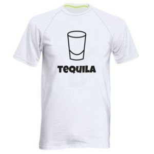 Men's sports t-shirt Tequila for lime