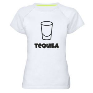 Women's sports t-shirt Tequila for lime