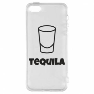Phone case for iPhone 5/5S/SE Tequila for lime