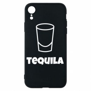 Phone case for iPhone XR Tequila for lime
