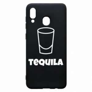 Phone case for Samsung A20 Tequila for lime