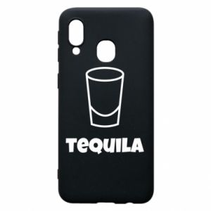 Phone case for Samsung A40 Tequila for lime