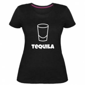 Women's premium t-shirt Tequila for lime - PrintSalon