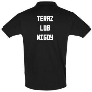 Men's Polo shirt Now or never