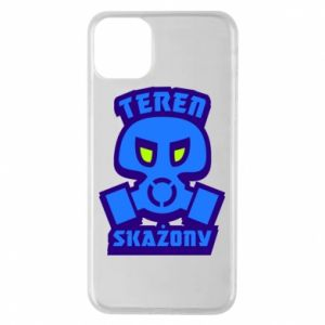 Phone case for iPhone 11 Pro Max Contaminated territory