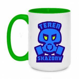 Two-toned mug 450ml Contaminated territory