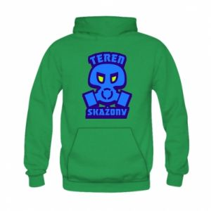 Kid's hoodie Contaminated territory