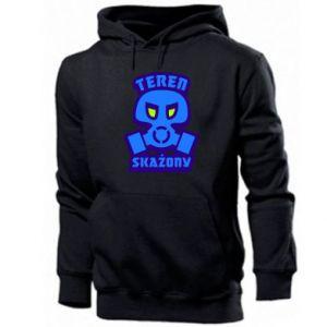 Men's hoodie Contaminated territory
