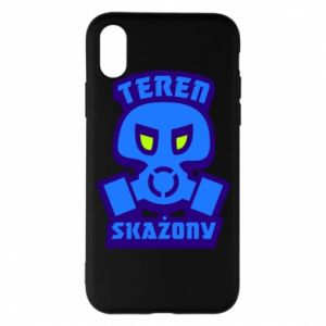 Phone case for iPhone X/Xs Contaminated territory