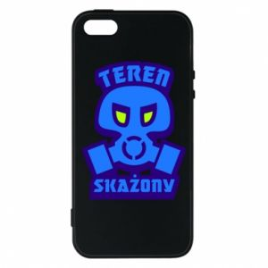 Phone case for iPhone 5/5S/SE Contaminated territory
