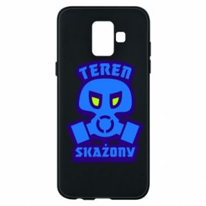 Phone case for Samsung A6 2018 Contaminated territory