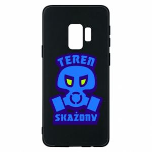 Phone case for Samsung S9 Contaminated territory