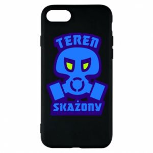 Phone case for iPhone 8 Contaminated territory