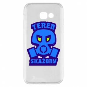 Phone case for Samsung A5 2017 Contaminated territory
