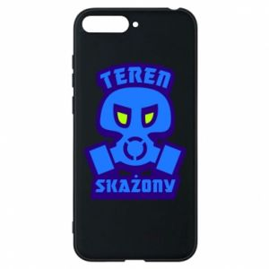 Phone case for Huawei Y6 2018 Contaminated territory