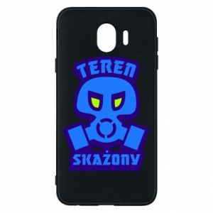Phone case for Samsung J4 Contaminated territory