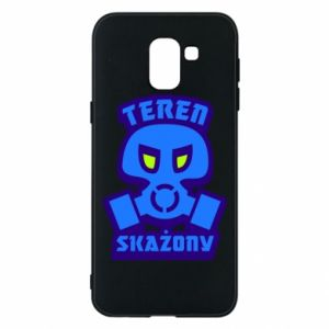 Phone case for Samsung J6 Contaminated territory