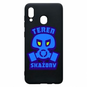 Phone case for Samsung A20 Contaminated territory