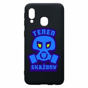 Phone case for Samsung A40 Contaminated territory