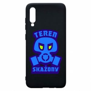 Phone case for Samsung A70 Contaminated territory