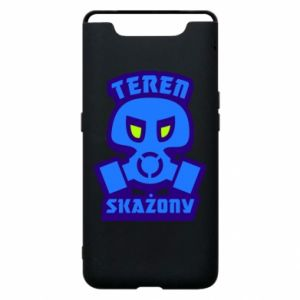Phone case for Samsung A80 Contaminated territory
