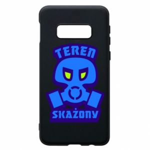 Phone case for Samsung S10e Contaminated territory
