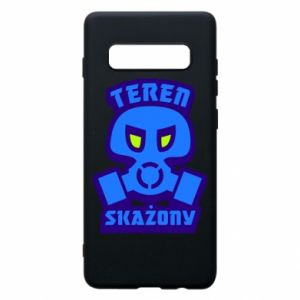 Phone case for Samsung S10+ Contaminated territory