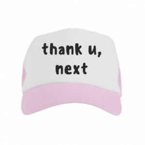 Kid's Trucker Hat thank u, next
