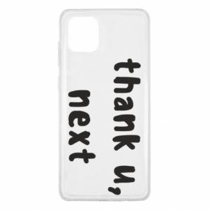 Samsung Note 10 Lite Case thank u, next