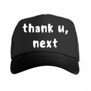 Trucker hat thank u, next