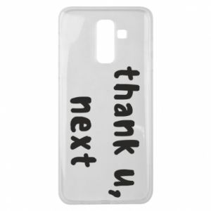 Samsung J8 2018 Case thank u, next