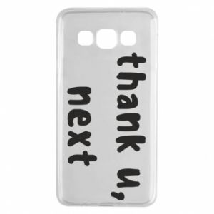 Samsung A3 2015 Case thank u, next