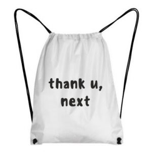Backpack-bag thank u, next