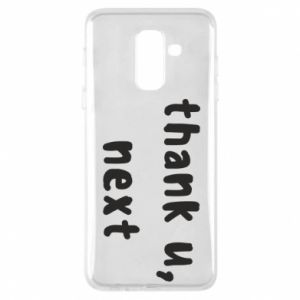 Samsung A6+ 2018 Case thank u, next