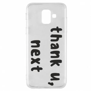 Samsung A6 2018 Case thank u, next
