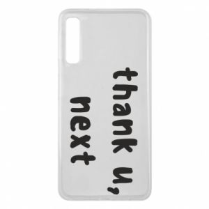 Samsung A7 2018 Case thank u, next