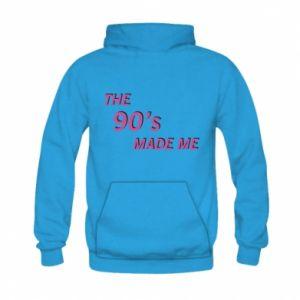 Bluza z kapturem dziecięca The 90's made me