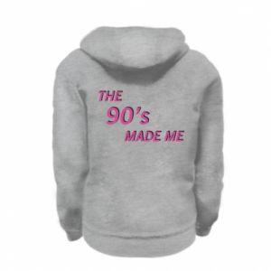 Bluza na zamek dziecięca The 90's made me